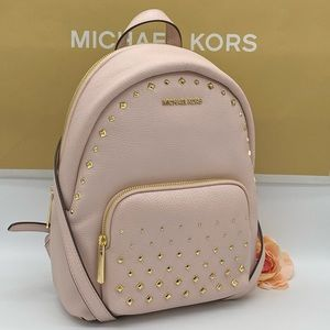 MICHAEL KORS ERIN MEDIUM BACKPACK POWDER BLUSH